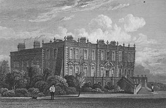 Croxteth Hall - Croxteth Hall in the 1820s
