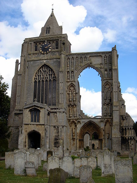 File:Croyland Abbey & Parish Church of Crowland.JPG