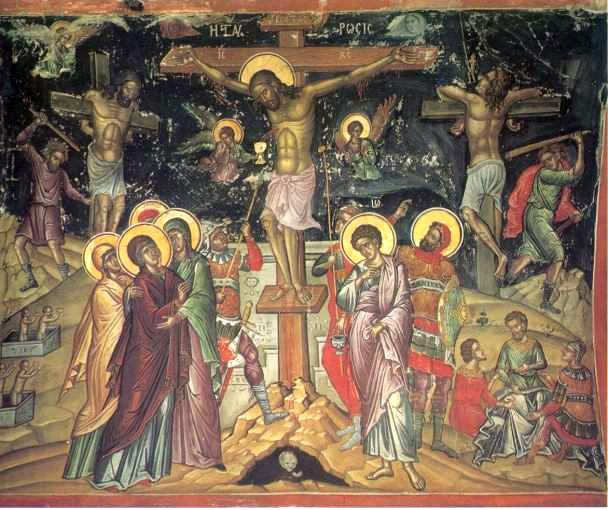 Crucifixion by Theophanes the Cretan
