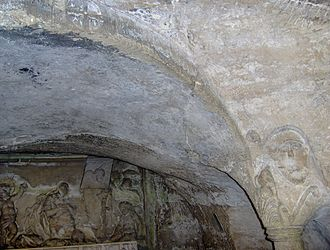 Abbey of St Victor, Marseille - Crypt