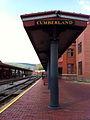 Cumberland Western MD station side platform.jpg