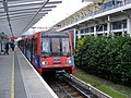 Custom House DLR Station, Spr 2009.jpg