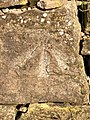 Cut Mark at Feniscowles, Moulden Brow Wall.jpg