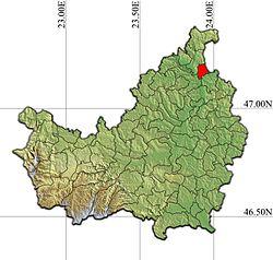 Vị trí của Cuzdrioara
