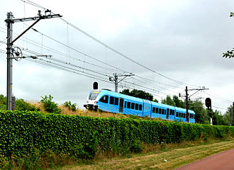 Connexxion - GTW train near Amersfoort in July 2013