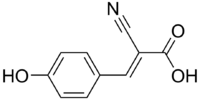 Cyanohydroxycinnamic acid.png