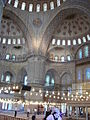 DSC04473 Istanbul - Sultan Ahmet camii (Moschea blu) - Foto G. Dall'Orto 28-5-2006.jpg