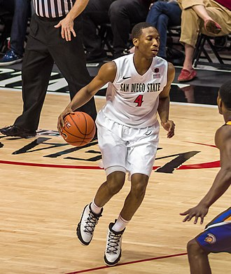 Dakarai Allen - Allen with the San Diego State Aztecs in 2014