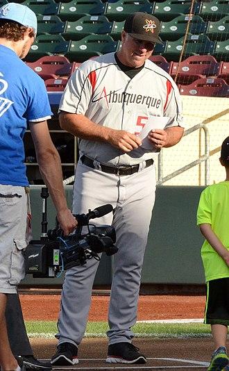 Damon Berryhill - Image: Damon Berryhill on June 19, 2014