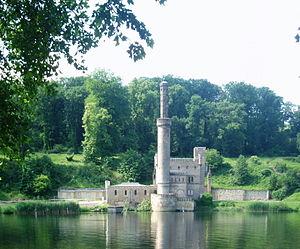 Babelsberg Park - Steam-powered pump house