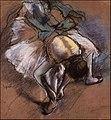 Dancer Adjusting Her Slipper by Edgar Degas.jpg
