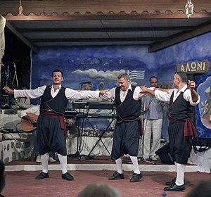 Greek dances - Dancers from Patmos island