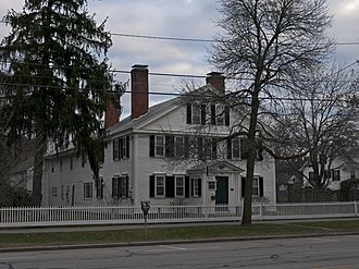 National Register of Historic Places listings in Cheshire County, New Hampshire - Image: Daniel Adams House Keene