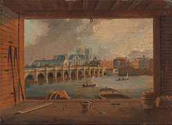 Daniel Turner: A View of Westminster Bridge