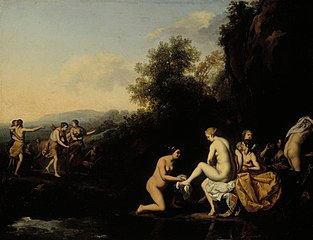 Diana with bathing nymphs