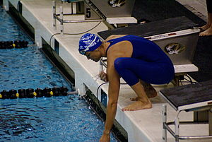 Dara Torres - Torres at the Missouri Grand Prix in 2008