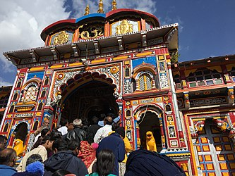 Darshan at badrinath temple.jpg