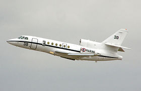 Un Falcon 50M Surmar dell'Aviation navale francese