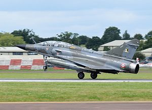 Dassault Mirage 2000N/2000D - Mirage 2000N lands at RIAT, England, 2016