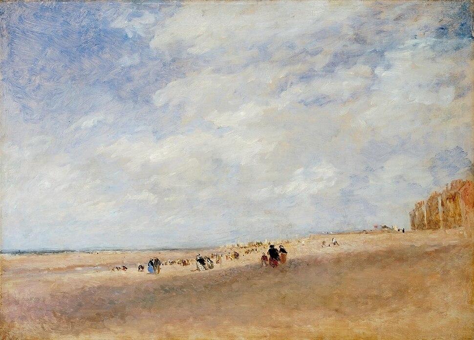 David Cox - Rhyl Sands (Tate version)