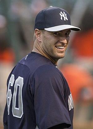 David Huff (baseball) - Huff with the Yankees in 2013