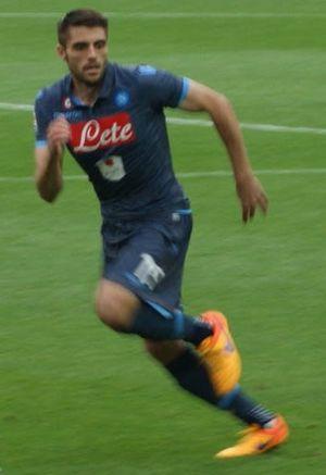 David López (footballer, born 1989) - López playing for Napoli in 2015