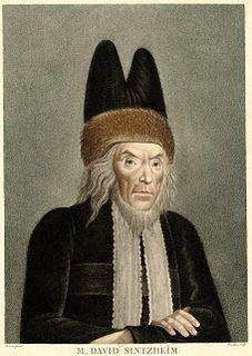 Joseph David Sinzheim chief rabbi of Strasbourg