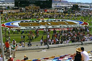 Daytona 500 - Prerace ceremonies before the 2008 Daytona 500.