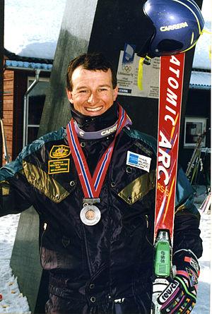 Australia at the 2002 Winter Paralympics - Australian Paralympian Michael Milton at the 1994 Winter Games in Lillehammer
