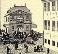 De Waag in Gouda door Arent Lepelaar 1712.jpg