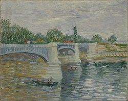 Vincent van Gogh: The Bridge at Courbevoie