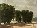 De ingang van het park van Saint-Cloud in Parijs Rijksmuseum SK-A-646.jpg