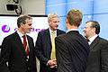 De nordiska utrikesministrarna haller pressmote. Nordiska radets session i Stockholm 2009 (1).jpg
