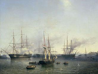Louis Meijer - Image: De overmeestering van Palembang (Sumatra) door luitenant generaal Baron de Kock, 24 juni 1821, Louis Meijer, 1857 Rijksmuseum