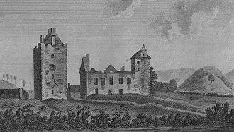 Dean Castle - Dean Castle in 1790
