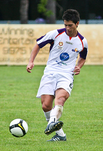 Dean Evans - Perth Glory Youth in 2009