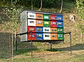Decorated Bee-hives at Selo near Bled 119.jpg