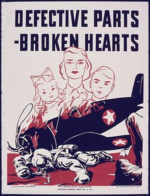 Defective parts - Broken hearts - NARA - 535072