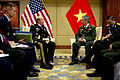 Defense.gov News Photo 120603-D-VO565-045 - Chairman of the Joint Chiefs of Staff Gen. Martin E. Dempsey meets with Vietnamese Vice Minister of National Defense Lt Gen. Vinh during the.jpg