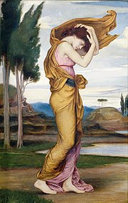 Deianira painting by Evelyn De Morgan