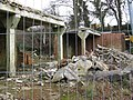Demolished farm buildings in Slaugham, West Sussex, England.jpg