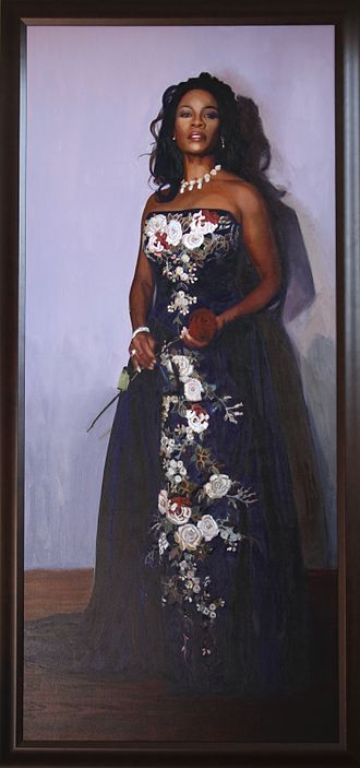 Denyce Graves - Painting by Ben Fortunado Marcune