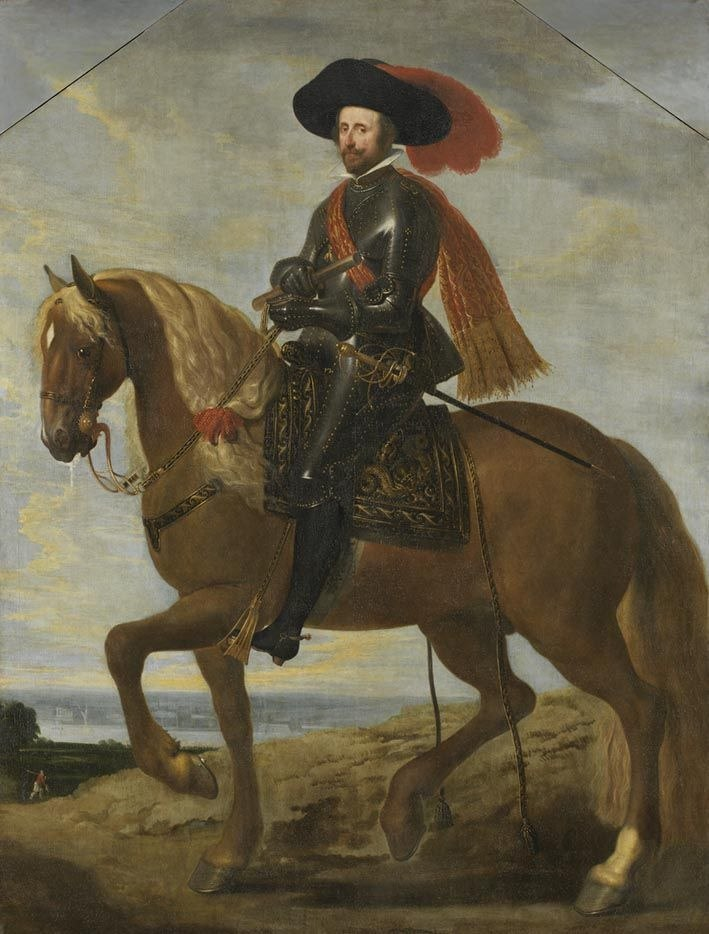 Deodat del Monte (Attr) - Equestrian portrait of Wolfgang Wilhelm von Pfalz-Neuburg