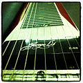 Derby Steel's Pedal Steel Guitar - from tail, with George L's E-66 pickup.jpg