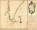 Derrota que hicieron los dos navios de SM. Castilla y Europa devajo del mando del Gefe de Esquadra, el Señor Dn. Franco. de Orosco, desde la Ensenada de Maldonado asta el puerto de la Consepción de LOC 90682598.jpg