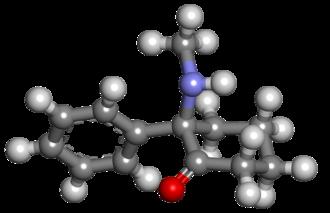 Deschloroketamine - Image: Deschloroketamine 3d