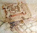 Detail uit de hydrografische kaart van Gent met het latere Spanjaardenkasteel.jpg