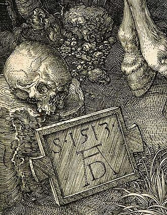 Knight, Death and the Devil - Detail