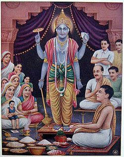 worship in hinduism wikipedia