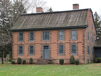Wayne, New Jersey - Dey Mansion, which served as headquarters for General Washington